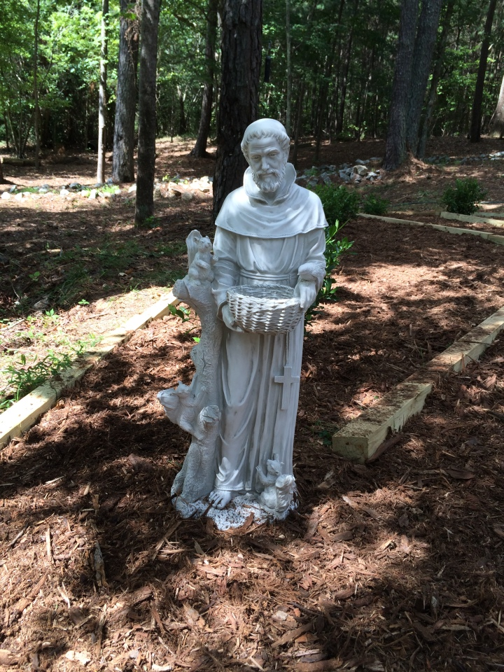Construction and Dedication of the Saint Francis Memorial Garden